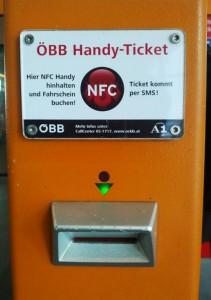 NFC-Fahrscheinentwerter (Bild unter CC BY-SA 3.0 Lizenz aufgenommen von Sae1962)