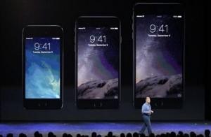 Das neue iPhone 6 und iPhone 6 Plus im Vergleich mit dem kleineren 5S