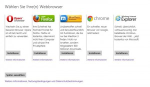 Browserauswahl